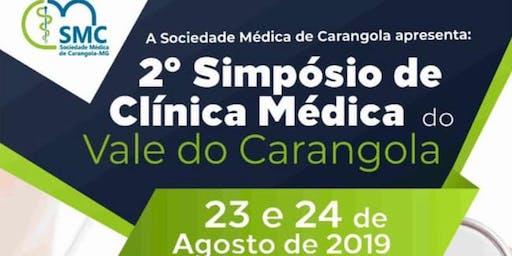 2o  Simpósio de Clínica Médica do Vale do Carangola + Urezoma 2019