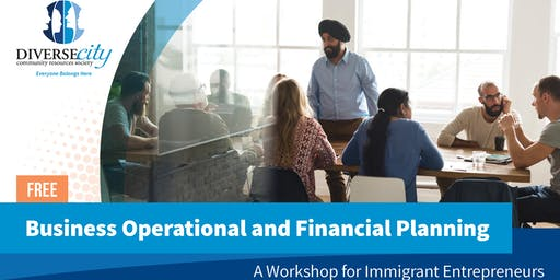 Free workshop: Business Operational and Financial Planning