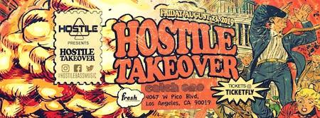 August 23 Fresh/Hostile in Disco Room / 18+ 8:30pm-2:00am