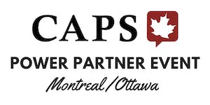 Power Partners - Joint Montreal/Ottawa Event (Part 1)