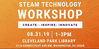 STEAM Technology Teen Workshop: Bring an iPhone - August 31