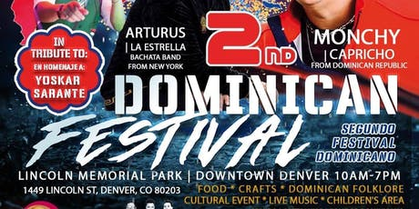 2nd Dominican Festival in Denver tickets