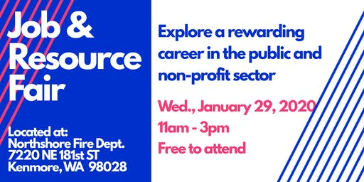 Job & Resource Fair - Public and Non-Profit