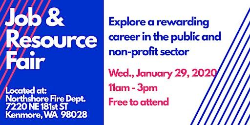 Job & Resource Fair - Public and Non-Profit