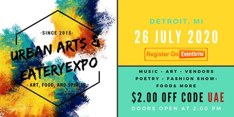 URBAN ARTS AND EATERY EXPO tickets