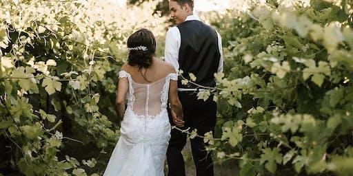 2019 Wedding Tour: Starting Time & Location 1:00pm Stone Ridge Event Center