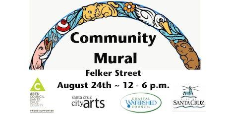 Felker Street Storm Drain Mural Painting tickets