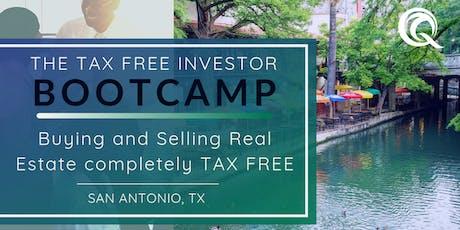 San Antonio's Tax Free Investor Boot Camp tickets