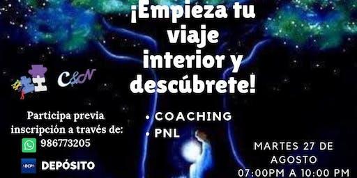 ¡EMPIEZA TU VIAJE INTERIOR Y DESCÚBRETE!