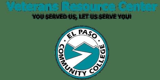 EPCC Veterans Resource Center Job Fair