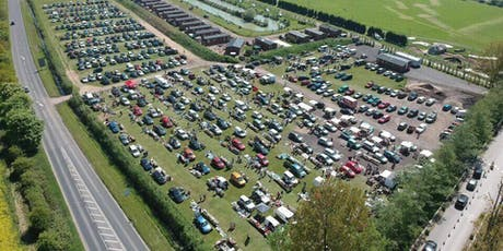 Stonham Barn Sunday Car Boot & Classic Car Show on 18th August  from 8am tickets