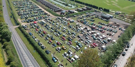 Stonham Barn Sunday Car Boot & Classic Car Show on 18th August  from 8am