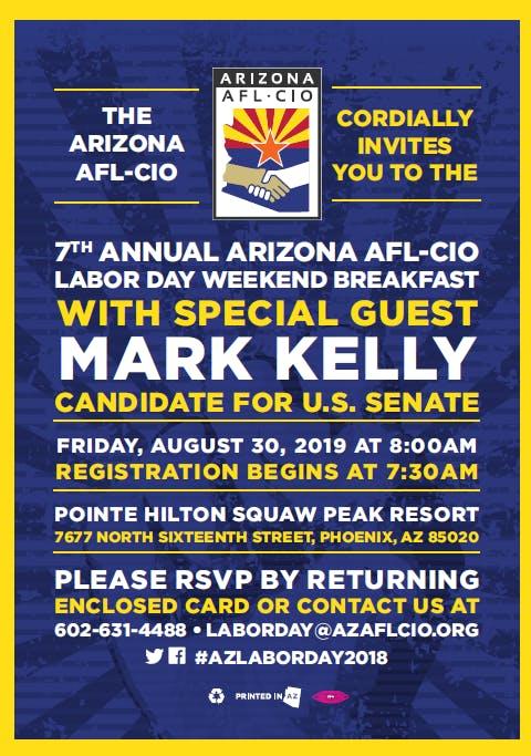 Arizona AFL-CIO Labor Day Breakfast