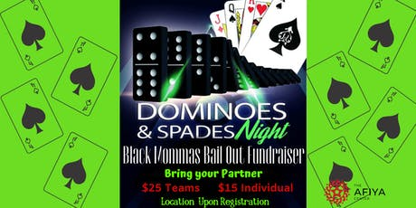 Spades and Dominoes Tournament tickets