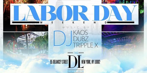 Sky High Rooftop Day Party, Free Entry + Happy Hour, Labor Day Weekend