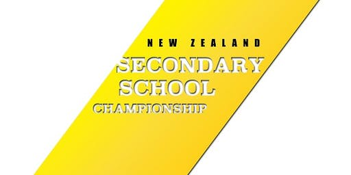 2019 New Zealand Secondary Schools Championships