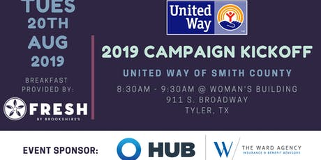 2019 Campaign Kickoff! tickets