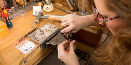 Basic Metalworking in Sterling Silver - No torch required! tickets