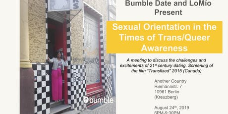 Sexual orientation in the times of trans/queer awareness Tickets