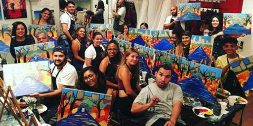 Buns and Brews Sip and Paint