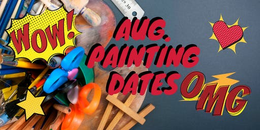 August Painting Dates & Themes