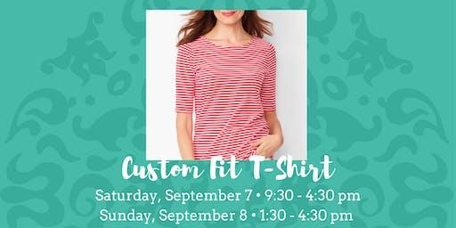 Custom Fit T-Shirt - September 7 & 8, 2019