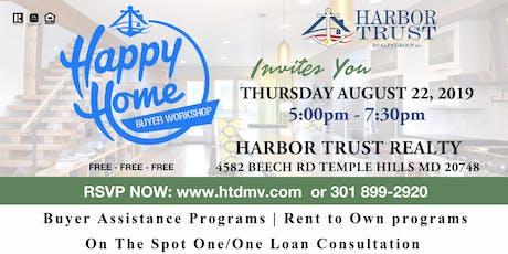 August Home Buyer Workshop tickets