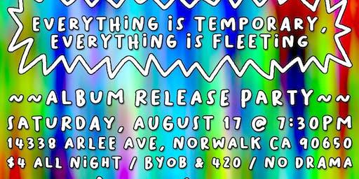Rufio Spenz  Album Release Party