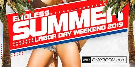 Labor Day Weekend: Onyx Saturday  tickets