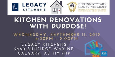 Renovating your Kitchen with Purpose tickets