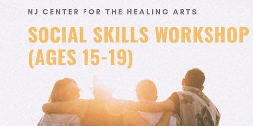 Social Skills Workshop (ages 15-19)