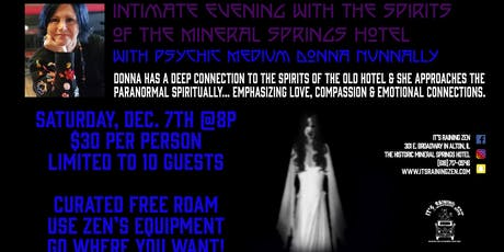Intimate Evening with the Spirits of Mineral Springs tickets