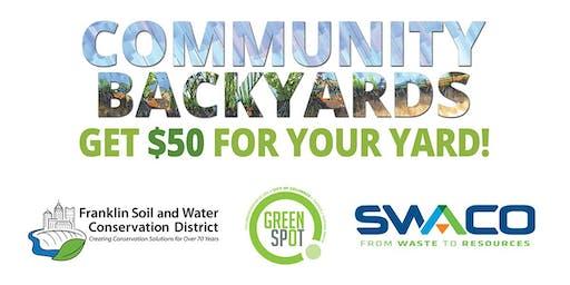 Community Backyards Class 9-5-19
