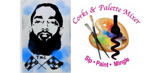 Paint & Chill NIPSEY HUSSLE BDAY TRIBUTE