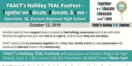FAACT's TEAL FunFest-South Jersey- Together we Educate, Advocate and Love tickets