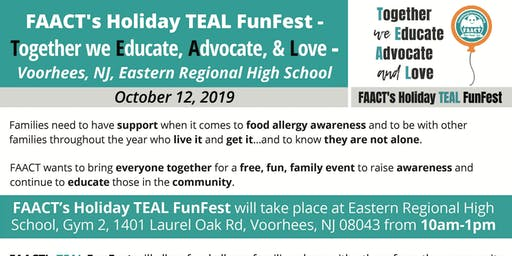 FAACT's TEAL FunFest-South Jersey- Together we Educate, Advocate and Love
