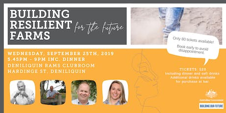 RESILIENT FARM BUSINESSES for the future tickets