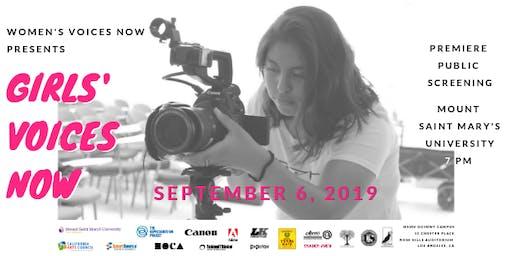 Girls' Voices Now: Premiere Public Film Screening