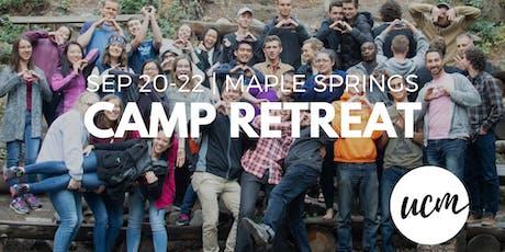 UCM Camp Retreat 2019 tickets