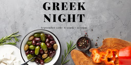 "Kitchen House ""After Dark"" Cooking Class - GREEK NIGHT"