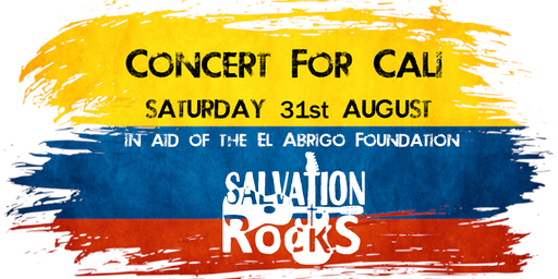 """Concert for Cali"" with the Salvation Rocks Band and Friends"