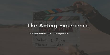 The Acting Experience tickets