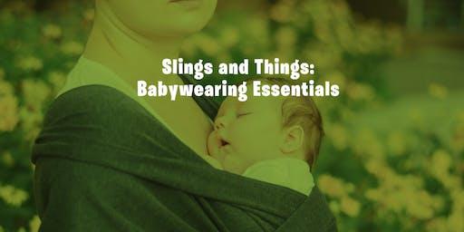 Baby Wearing Essentials
