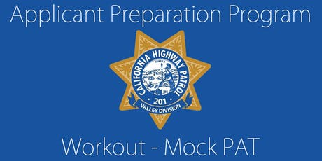 California Highway Patrol-Valley Division Applicant Preparation Program (APP) Mock PAT tickets
