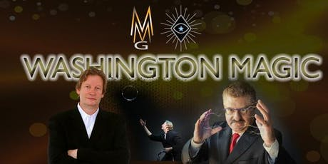 Washington Magic - September 26, 2019 - Drinks, Dinner and Magic 6:30 p.m. at our Magical Mansion tickets