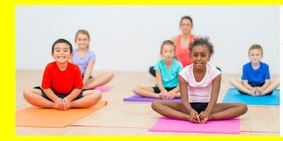 Power Brain Kids Yoga Class Series- Trial Class