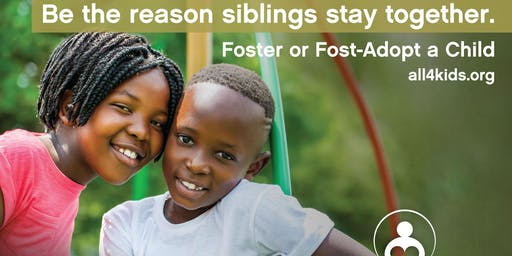 Be the Reason Siblings Stay Together - Become a Resource Parent