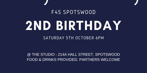 F45 Spotswood's 2nd Birthday