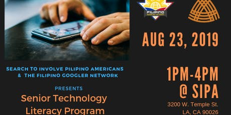 Senior Technology Literacy Program-Session 1:Introduction to Mobile Devices tickets