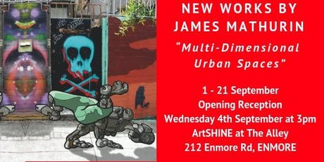 'Multi-Dimensional Urban Spaces' - Solo Exhibition by James Mathurin tickets